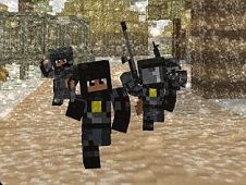 Blocky Craft Police Squad