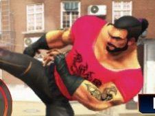 Bodybuilder Ring Fighting Club Wrestling