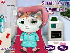 Sheriff Callie In The Ambulance