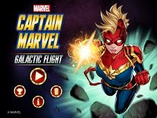 Captain Marvel Galactic Fight