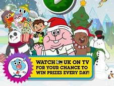 Cartoon Network Christmas Sledge