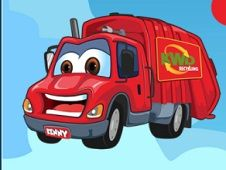 Cartoon Kids Trucks
