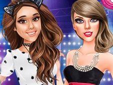 Celebs at Music Awards