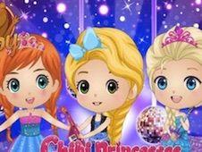 Chibi Princesses Rock N Royals Style