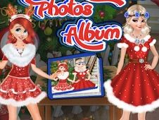 Princesses Christmas Photos Album