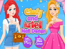 Cindy and Ariel Nails Design