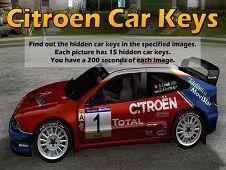 Citroen Car Keys