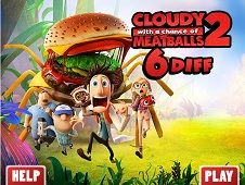 Cloudy with a Chance of Meatballs 2 6 Diff