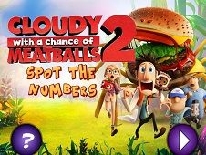 Cloudy With a Chance of Meatballs 2 Spot the Numbers