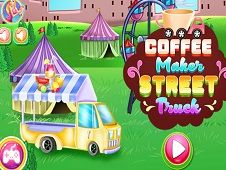 Coffee Maker Street Truck