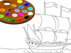 Color the Ship