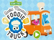 Cookie Monster Food Truck
