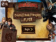 Create a Book of Dragons Flyer
