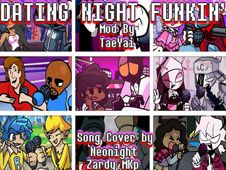 Dating Night Funkin' But Every Turn a Different Character Sings