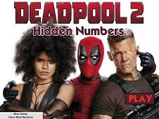 Deadpool 2 Hidden Numbers