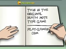 Death Note Type Game