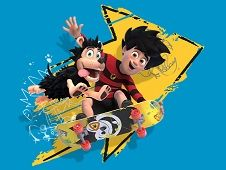 Dennis and Gnasher Unleashed Skate Blam