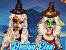 Design Elsa Halloween Costume