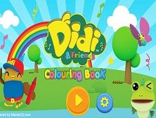Didi and Friends Coloring Book