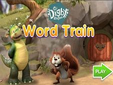 Digby Dragon Word Train