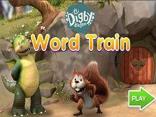 Digby Dragon Word Train