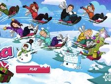 Disney Channel Sled O Rama