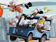 Disney Duck Tales Duckburg Quest