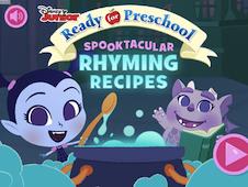 Disney Junior Ready for Preschool Spooktacular Rhyming Recipes