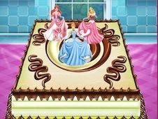 Disney Princess Cake Cooking