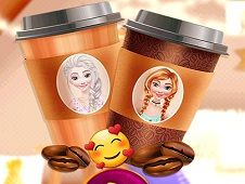 Disney Princesses Coffee Break