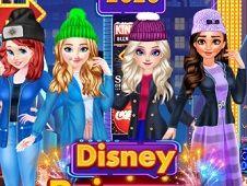 Disney Princesses New Year Eve