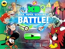 Disney XD Rock Paper Scissors