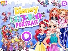 Disney Puzzle Portrait
