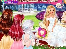 Disney Bridesmaids Hair Salon