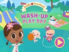 Doc McStuffins Wash Up Play Day