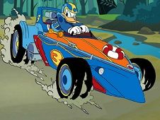 Donald Duck Hidden Car Tires