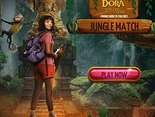 Dora and the Lost City of Gold Jungle Match