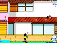 Doraemon and Nobi Nobita Baseball Typing