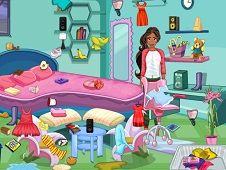 Elena of Avalor Cleaning Room
