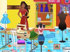 Elena of Avalor Tailoring Room Cleaning