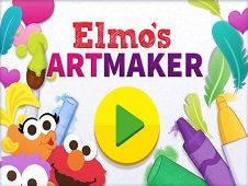 Elmo Art Maker Pizza