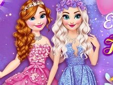 Elsa and Anna Sent to Fairy Land