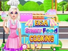Elsa Street Food Cooking