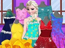 Elsa Valentine Dress Design