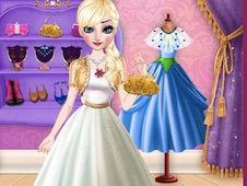 Elsa Dress Style Attempt