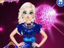 Elsa Little Blue Dress