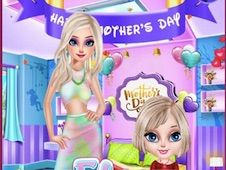 Elsa Mother Day Card