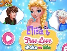 Elsa True Love Jack vs Hiccup