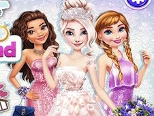 Elsa Wonderland Wedding