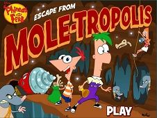 Phineas and Ferb Escape from Moletropolis